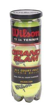 Generic Wilson Golf Division Grandslam 3 Ball T-Ball XD - Extra Heavy Duty Tennis Balls