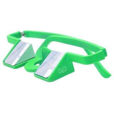 Y & Y Vertical Green Y & Y - Plasfun - Made Of Light & Solid Plastic, Easy To Wear