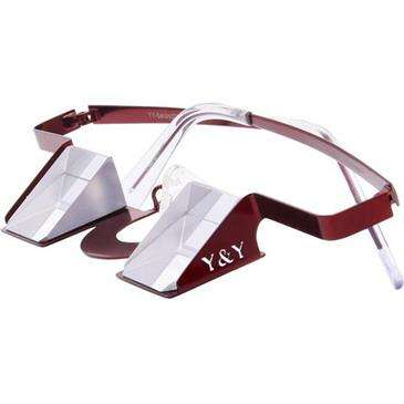 Y & Y Vertical Red Y & Y - Colorful - Flexible Glasses Bows And Frame