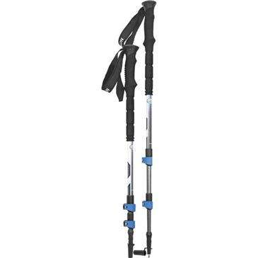 Yukon Charlie'S Yukon Blue Charlie'S Pro Ii 7000 Trek Pole - Extended Eva Grip Is Slip Proof