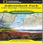 Adirondack Maps Adirondack Map Lake George