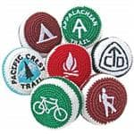 Adventure Trading Continental Divide Trail Footbag - Embroidered Designs