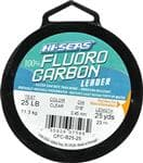 Generic American Fishing Wire Clear Fluorcarbon Leader 25 Pounds Test 25 Yards