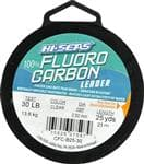 Generic American Fishing Wire Clear Fluorcarbon Leader 50 Pounds Test 25 Yards