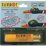 BALMSHOT Cool Mint Balmshot Lip Balm - Moisturizing, Spf 15 W/Aloe & Vitamin E