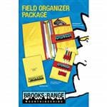 Brooks-Range Field Organizer Package - Bright Yellow Nylon For Visibility/Safety