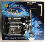 Calypso Blue Fin Blue Fin Trolling Reel - 2 Bearing Drive, Aluminum Spool, Fishing