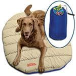 Canine Hardware Travel Bed - Double Off Set Quilted Construction w/Poly Suede