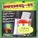 Carlson Tackle Wing-It Fishing Bobbers W/Light Stick