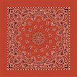 Carolina Manuf Bandana Paisley Terracotta - Great Recreational Accessory