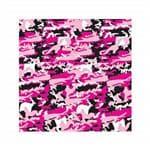 Carolina Manuf Pink Camouflage Bandana - Scarf/Biker/Kerchief/Decoration