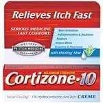 CORTIZONE-10 Cream .5 Ounce - Skin Irritation, Inflamation & Redness, Rashes