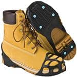DUE NORTH Duonorth All Purpose Crampon Large - Slip-On, Stowable Traction Devices, Snow