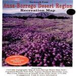 Earthwalk Press Anza-Borrego Desert Rec Map - Shows Roads/Jeep Routes/Trails