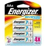 Energizer Advanced Lithium Batteries AA 4 Pack/PK - Lasts Up To 4X Longer