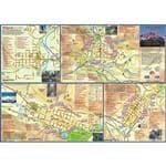 Franko Maps Fade Resistant Durable Waterproof Synthetic San Juan Mtns Adventure Guide