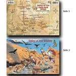 Franko Maps Fade Resistant Durable Waterproof Synthetic Valley Of Fire Id Card