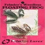Felmlee Lures Weedless Floating Frog Fishing Lure