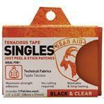 Gearaid Clear Tenacious Tape Roll Pack - Ideal For Technical Fabrics, Nylon