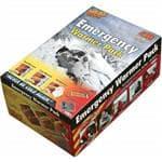 Heat Factory Emergency Warmer Pack - Hand Warmer, Large, Toe, 2 Glow Sticks