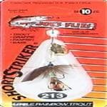 generic Joe's Flies Rainbow Trout Short Striker Hook Size 10 - Ideal For Crappie/Panfish/Bass