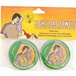 LIGHTLOAD TOWEL Lightload Mini Towels 2 Pack/PK- used As Wind/Winter Scarf/First Aid Supplement