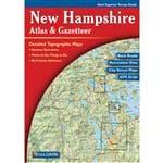 Generic New Hampshire Atlas & Gazetteer - Publisher: Delorme, 11'' X 15-1/2'', Traveling