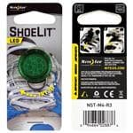 Nite Ize Green Shoelit - Water-Resistant Casing Backed, Easy To Activate