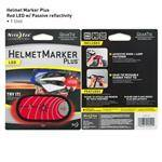 NITE-IZE Red Helmet Marker Plus Led - Surprisingly Thin, Durable Polymer Strip