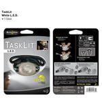 NITE-IZE White Tasklit - Push The Water-Resistant Lamp, Long-Life - Net-07-02