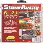 Plano Stowaway w/Adjustable Dividers - 6-21 Compartments, Locking System, etc