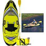 Rave Sports RAVE Sea Rebel Inflatable Kayak - 420D Nylon Cover With A 500D Tarpualin Bottom