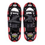 REDFEATHER Hike Series Snow Shoes 8'' x 22'' - Maximum Flotation, Balance In Snow