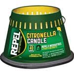 REPEL Citronella Candle 3 Wick Candle - Burns Up To 40 Hours, Mosquito Repellent