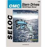 Seloc Service Manual - OMC Stern Drive - 1964-86 - Instructional Repair Manual
