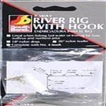 3 Way River Rig W/Fishing Hook