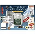 Whistle Creek  Survival Kit In A Sardine Can - Camping, Hiking, Traveling, Outdoors, Waterproof