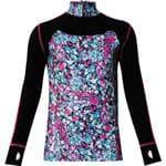 WATSON'S Purple Performance Zip Girl'S Top Shirt Lrg - Made For A 4-Way Stretch