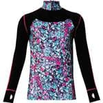 WATSON'S Purple Performance Zip Girl'S Top Shirt Med - Made For A 4-Way Stretch