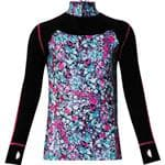 WATSON'S Purple Performance Zip Girl'S Top Shirt Sml - Made For A 4-Way Stretch
