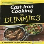 Wiley Publishing Cast-Iron Cooking For Dummies - Easy To Use Cookbook & Guide