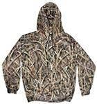 Yukon Gear Camouflage Men's Hunting Performance Fleece Hoodie Large