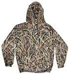 Yukon Gear Camouflage Men's Hunting Performance Fleece Hoodie X-Large
