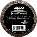 Zippo Campfire Starter - USA Made, Instant, 100% All Natural, Recycled Materials